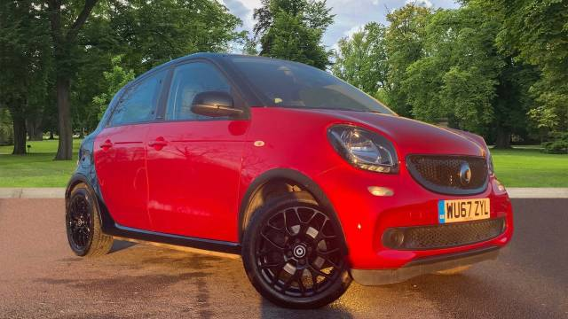 Smart Forfour 0.9T Prime Sport (Premium) Twinamic (s/s) 5dr Hatchback Petrol Black at CCR Motor Co Weston-Super-Mare