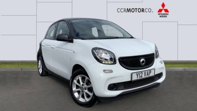 Smart Forfour 1.0 Passion (s/s) 5dr Hatchback Petrol White at CCR Motor Co Weston-Super-Mare