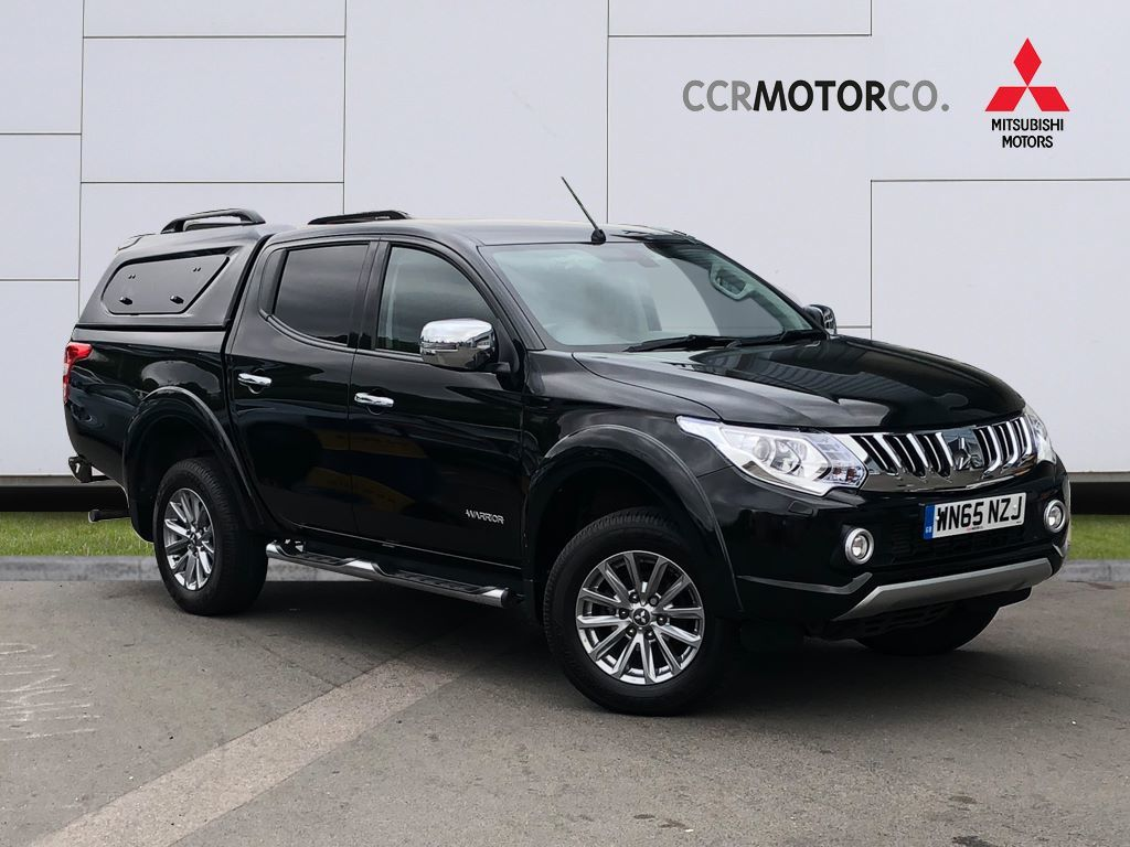 2015 Mitsubishi L200 2.4 Double Cab DI-D 178 Warrior 4WD**TOW BAR**SAT NAV**NO VAT**