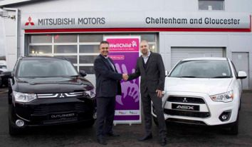 CCR Mitsubishi supports local children's charity
