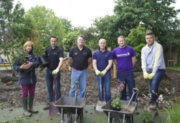CCR Mitsubishi Helps Transform School Garden with Well Child