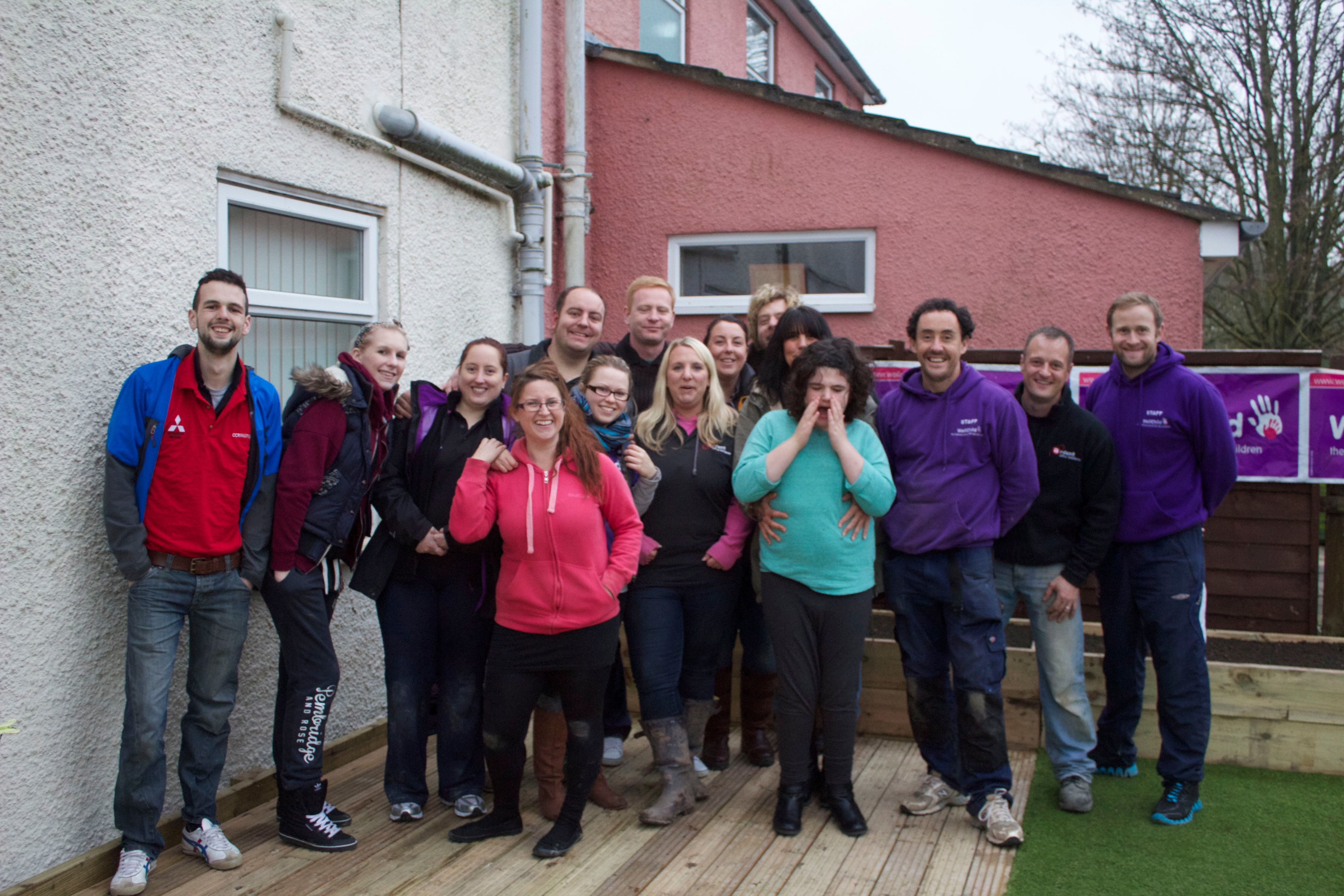 CCR MITSUBISHI HELP TRANSFORM GARDEN FOR SPECIAL TEENAGER