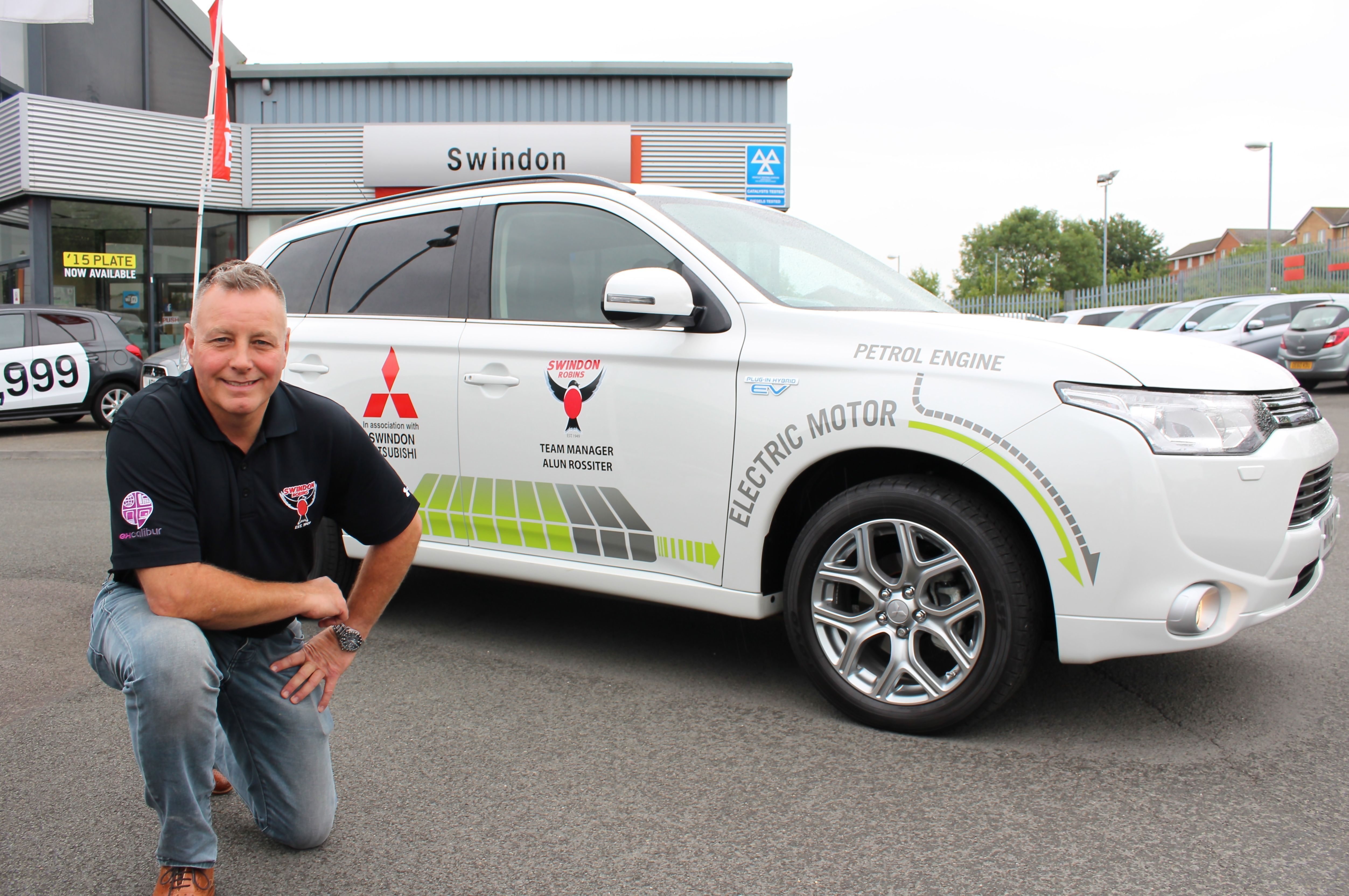 TEAM GB SPEEDWAY BOSS SWAPS THE TRACK FOR MITSUBISHI OUTLANDER PHEV