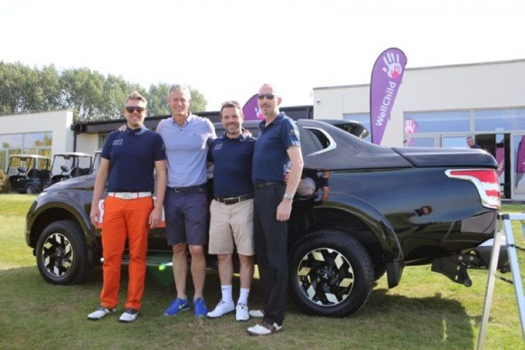 CCR Mitsubishi hits the fairways for WellChild