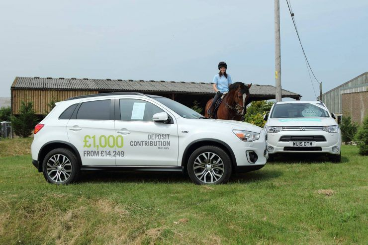 CCR Mitsubishi Saddles Up To Support Equestrian Centre