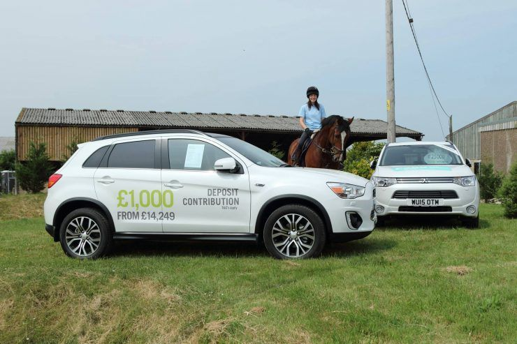 CCR Mitsubishi Saddles Up To Support Equestrian Centre CCR Motor - Mitsubishi support