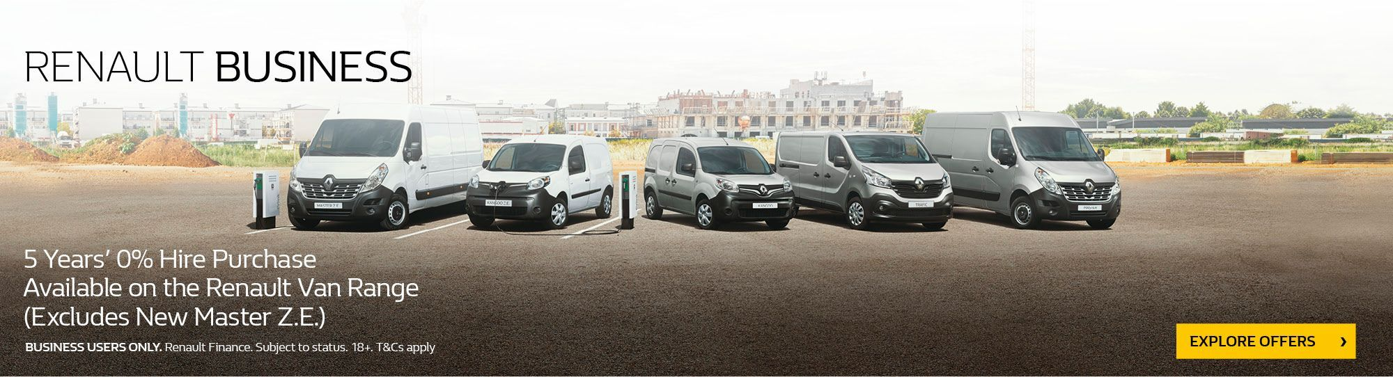Renault Fleet & Business users at CCR Motor Co