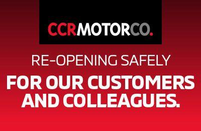 CCR Motor Co COVID 19 NOTICE and Re-opening Update