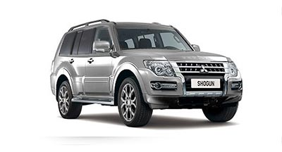Mitsubishi Shogun - Available in Cool Silver
