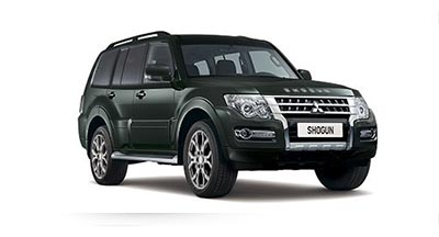 Mitsubishi Shogun - Available in Fairway Green