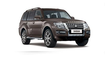 Mitsubishi Shogun - Available in Granite Brown