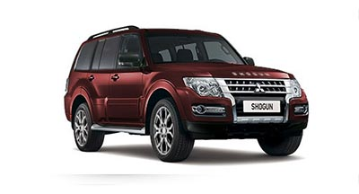 Mitsubishi Shogun - Available in Imperial Red